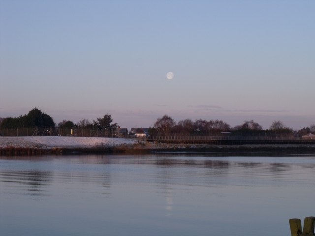 Jan 02 - Full moon and High tide